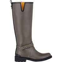 Rag And Bone Women's Moto Knee High Rain Boots Grey