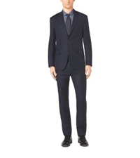 Michael Kors Slim Fit Two Button Wool Suit Midnight