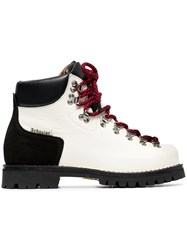 Proenza Schouler Chunky Hiking Boots White