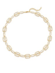 Adriana Orsini Oval Link Necklace Gold