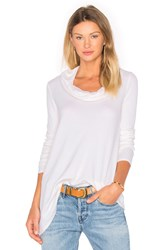 Three Dots Autumn Tunic White