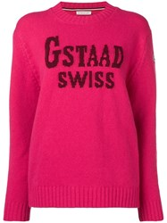 Moncler Gstaad Swiss Sweater Pink