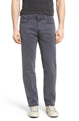 Fidelity Men's Denim Overdyed Straight Leg Jeans Steel