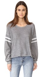 Wildfox Couture 5Am Sweatshirt Heather Burnout