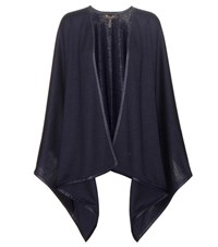 Loro Piana Madison Summer Cashmere And Silk Blend Shawl Blue