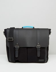 Forbes And Lewis Leather Wiltshire Satchel In Black Black