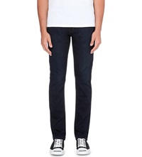Paige Lennox Skinny Mid Rise Jeans Cellar