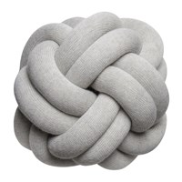 Design House Stockholm Knot Cushion 30X30cm White Grey