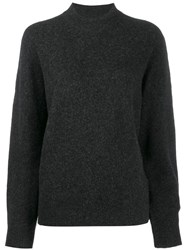 Iro Almy Long Sleeve Jumper Black