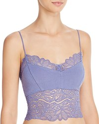 Free People Midnight Bra Cami Ob525736 Denim