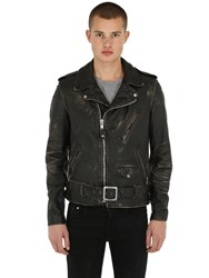 Schott Perfecto Vintage Leather Jacket Black