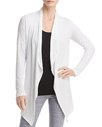 Marc New York Performance Lightweight Open Flyaway Cardigan White