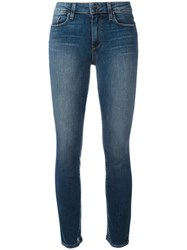 Paige 'Verdugo' Ultra Skinny Mid Rise Jeans Blue