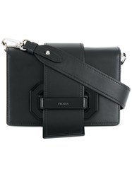 Prada Ribbon Shoulder Bag Black