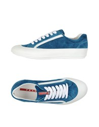 Prada Sport Footwear Low Tops And Trainers Men Pastel Blue