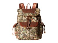 Sakroots Artist Circle Flap Backpack Camel Spirit Desert Backpack Bags Brown