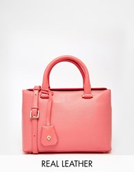 Modalu Leather Mini Tote Bag Pink