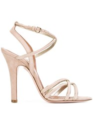 Red Valentino Strappy Heeled Sandals Nude Neutrals