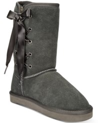 Styleandco. Style Co. Aliciah Cold Weather Boots Only At Macy's Women's Shoes Grey
