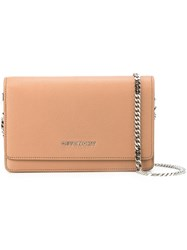 Givenchy 'Pandora' Crossbody Chain Wallet Nude And Neutrals