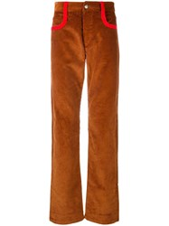 Missoni Corduroy Trousers Brown