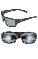 Men's Kaenon 'Kanvas' 59Mm Polarized Sunglasses Matte Black Grey G12