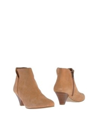 Sessun Ankle Boots Apricot