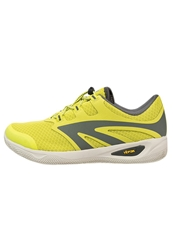 Hi Tec Hitec Vlite Rio Race Walking Trainers Chartreuse Charcoal Neon Green