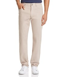 Johnnie O Stretch Cotton Five Pocket Regular Fit Pants Khaki