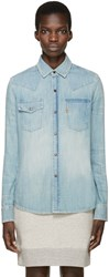 Levi's Blue Denim 70S Shirt