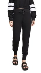 Chrldr Side Insert Sweatpants Black