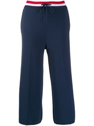 Thom Browne Pintucked Cropped Trousers 60