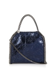 Stella Mccartney Falabella Small Metallic Cross Body Bag