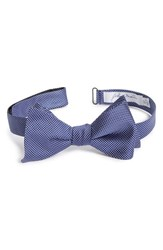 Men's John W. Nordstrom Dot Silk Bow Tie Blue Navy
