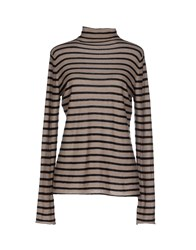 Maliparmi Knitwear Turtlenecks Women Beige