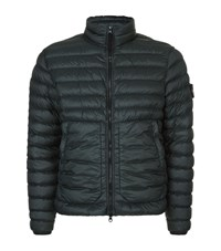 Stone Island Quilted Puffer Jacket Male Dark Green