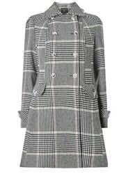 Dorothy Perkins Multi Checked Button Dolly Coat Pink