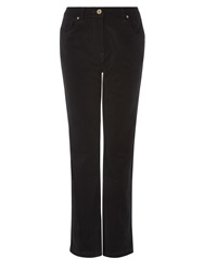 Dash Black Cord Trouser Regular