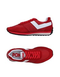 Pony Sneakers Red