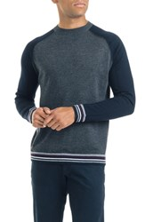 Good Man Brand Mix Modern Slim Fit Wool Sweater Charcoal Heather