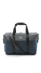 Tumi Alpha 2 Small Soft Satchel Navy Anthracite