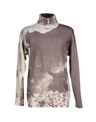 Etro Knitwear Turtlenecks Men Dove Grey