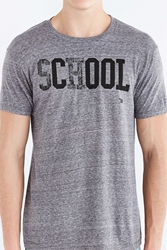 Ames Bros School's Cool Tee Grey