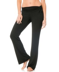 A Pea In The Pod Maternity Ruched Pajama Pants Black