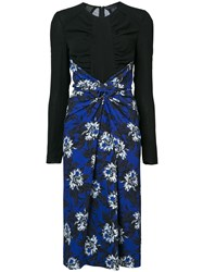 Proenza Schouler Re Edition Knotted Dress Blue