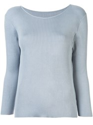 Tomorrowland Knitted Boat Neck Top 60