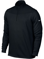 Nike Men's Golf Dri Fit Half Zip Jumper Black