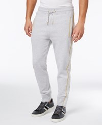 Sean John Men's Quilted Tracksuit Joggers Gray