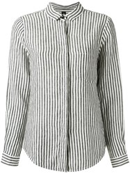 Osklen Striped Shirt White