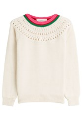 Vanessa Bruno Athe Pullover With Alpaca And Wool White